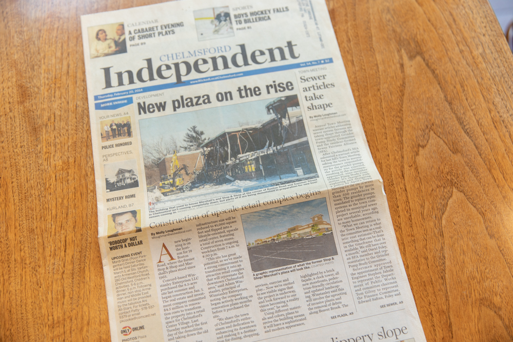 Work in the Chelmsford Independent