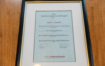 Merit Award for Concord Public Library Work