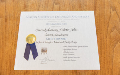 Merit Award from Boston Society of Landscape Architects